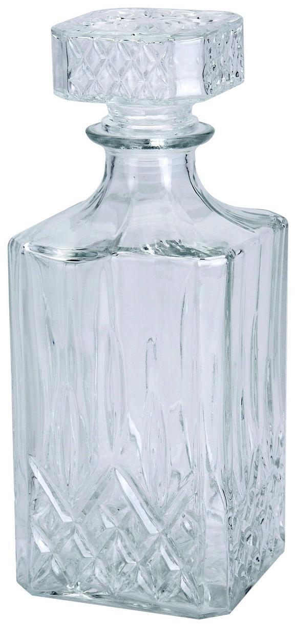 Karaffe Whisky mit Deckel - KONVENTIONELL, Glas (23/9/9cm)