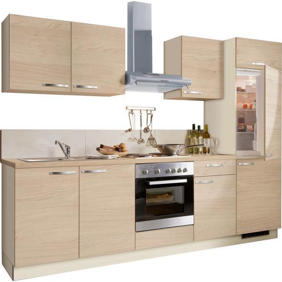 Kuhinjski Blok Plan - hrast/bež, Moderno, umetna masa/leseni material (280cm)