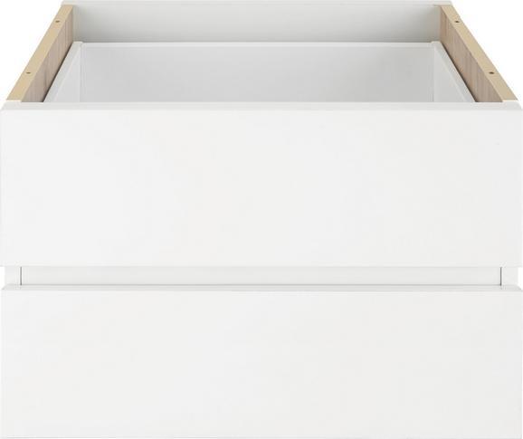 Schubkasteneinsatz Weiß, 2er Set - Weiß, Holzwerkstoff (52/35/34cm) - Mömax modern living