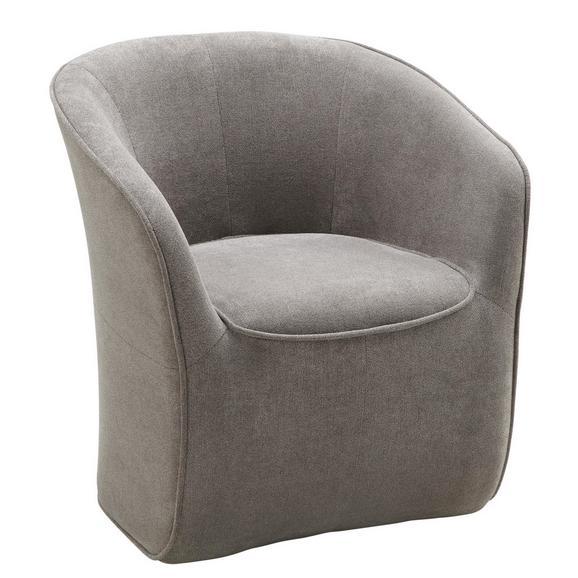 Sessel in Braun/grau - Braun/Grau, MODERN, Holzwerkstoff/Textil (72/77/72cm) - MÖMAX modern living