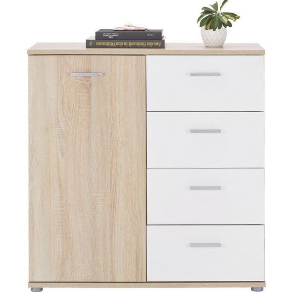 kommode wei sonoma eiche online kaufen m max. Black Bedroom Furniture Sets. Home Design Ideas