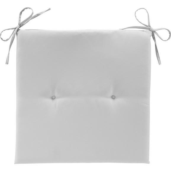 Sedežna Blazina Smokey - svetlo siva, tekstil (40/2,5/40cm) - Mömax modern living
