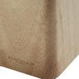 Echtwerk Messerblock 6-teilig - Silberfarben/Braun, KONVENTIONELL, Holz (10,5/22,7/12,7cm) - Echtwerk