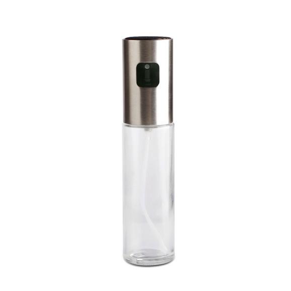 Recipient Pentru Ulei Sprayer - transparentă, plastic/sticlă (4,1/17,8cm) - Modern Living