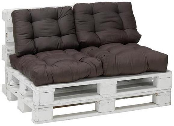Jastuk Za Sjedenje Daniel - smeđa, tekstil (40/60cm) - Mömax modern living