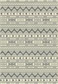 Flachwebeteppich Kelim 3 Naturfarben 160x230cm - Hellgrau/Schwarz, MODERN, Textil (160/230cm) - Mömax modern living