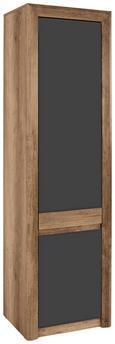 Szekrény Kashmir - barna, modern (57/192/41cm) - James Wood