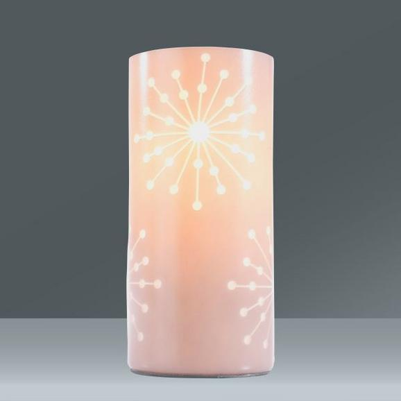Asztali Lámpa Pia - szürke, romantikus/Landhaus, üveg/fém (10/20cm) - MÖMAX modern living