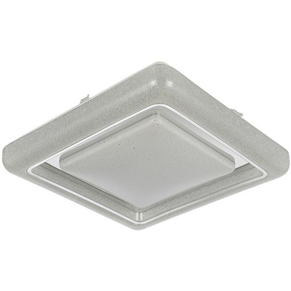 LED-Deckenleuchte Kristi max. 24 Watt - Weiß, ROMANTIK / LANDHAUS, Kunststoff (40/40cm) - Modern Living