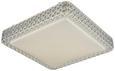 Stropna Led-svetilka Heino - bela, Moderno, kovina/umetna masa (28/28/7cm) - Mömax modern living