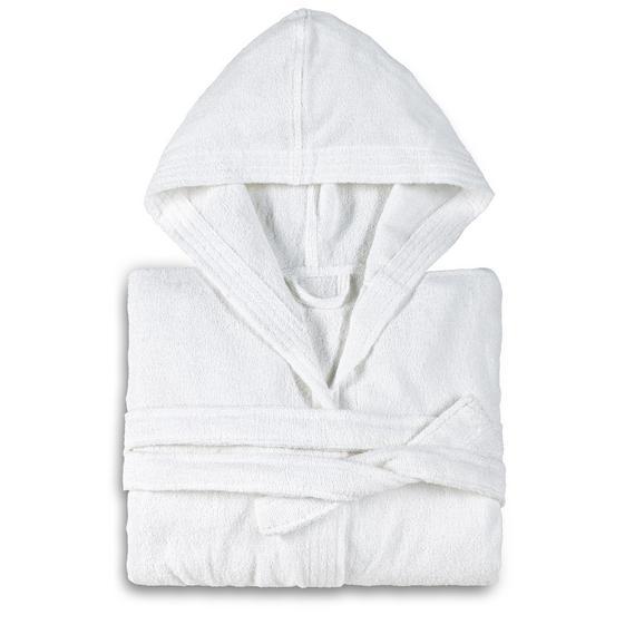 Bademantel Peter verschiedene Größen - Weiß, Textil (S,M,L,XL,null) - Mömax modern living