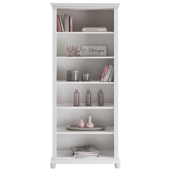 Regal Weiß - Weiß, Holz (85/200/40cm) - Zandiara