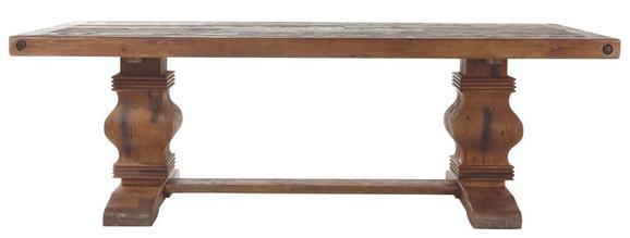 Esstisch in Natur aus Echtholz - Naturfarben, LIFESTYLE, Holz (240/100/78cm) - Zandiara