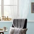 Perdea Cu Franjuri Promotion - alb, Konventionell, textil (90/200cm) - Modern Living