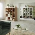 Raumteiler in Weiß mit 16 Fächer - Alufarben/Weiß, Basics, Holzwerkstoff/Kunststoff (154/157/35cm) - Mömax modern living