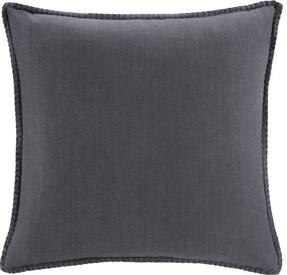 Zierkissen Lorena 45x45cm - Dunkelgrau, MODERN, Textil (45/45cm) - Mömax modern living