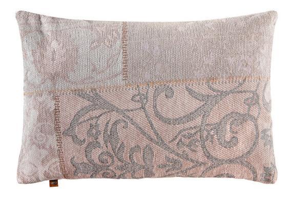 Kissen Alizza ca.40x60cm in Rosa - Rosa, MODERN, Textil (40/60cm)