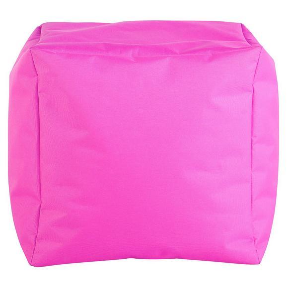 Tabure Cube S -sb- - roza, Moderno, tekstil (40/40/40cm) - Mömax modern living