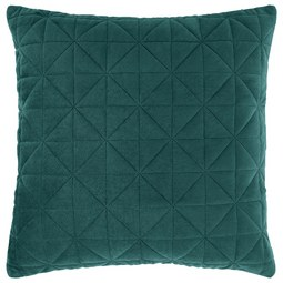 Kissenhülle Mary aus Samt ca. 45x45cm - Grün, MODERN, Textil (45/45cm) - Mömax modern living