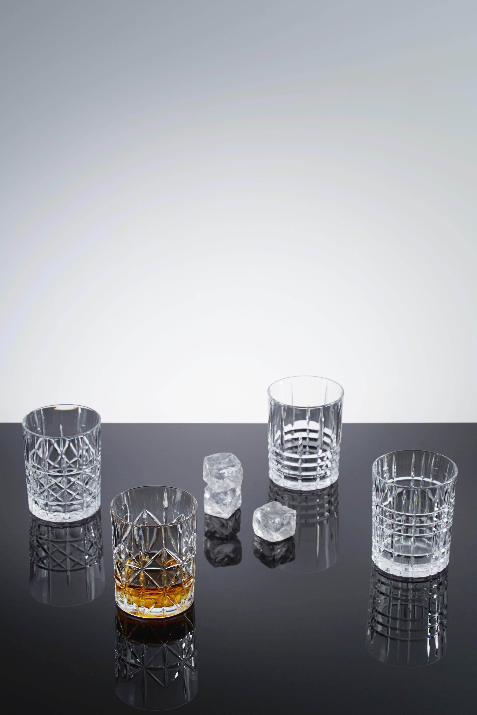 Whiskeygläser Nachtmann Highland 4-er Set - Klar, KONVENTIONELL, Glas (8,2cm) - NACHTMANN
