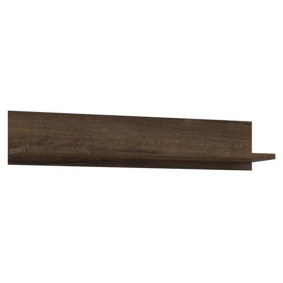 Stenska Polica Lacjum - hrast, Moderno, leseni material (150/29,6/31,1cm) - Mömax modern living