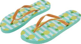 Strandpapucs Sole - Világosszürke/Lila, Lifestyle, Műanyag