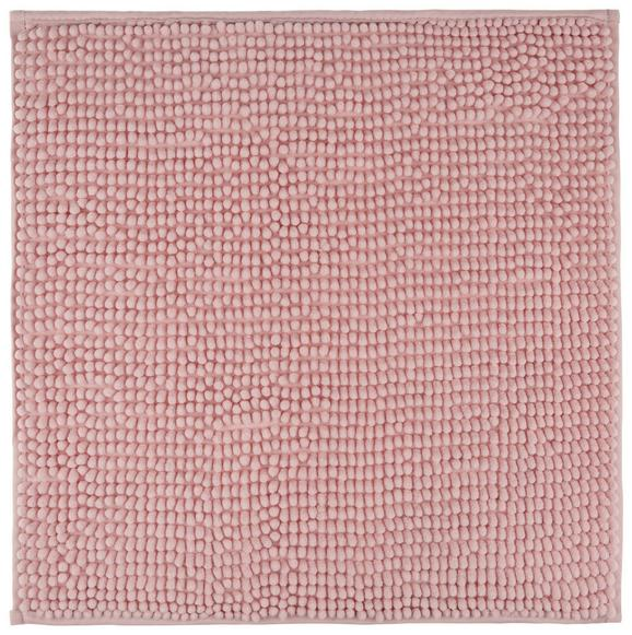 Badematte Nelly Rosa - Rosa, Textil (50/50cm) - MÖMAX modern living