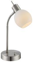 Tischleuchte Samuel, max. 4 Watt - KONVENTIONELL, Glas/Metall (21,7/1,2/34cm) - Mömax modern living