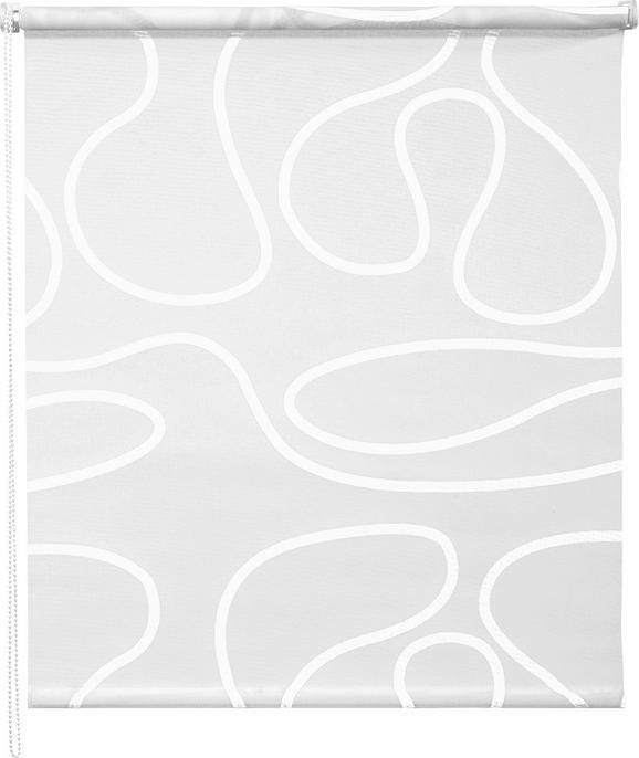 Klemmrollo Move in Weiß, ca. 100x160cm - Weiß, KONVENTIONELL, Textil (100/160cm) - Mömax modern living