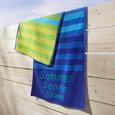Strandtuch Dyckhoff ca.70x180cm - Blau, KONVENTIONELL, Textil (70/180cm) - Dyckhoff