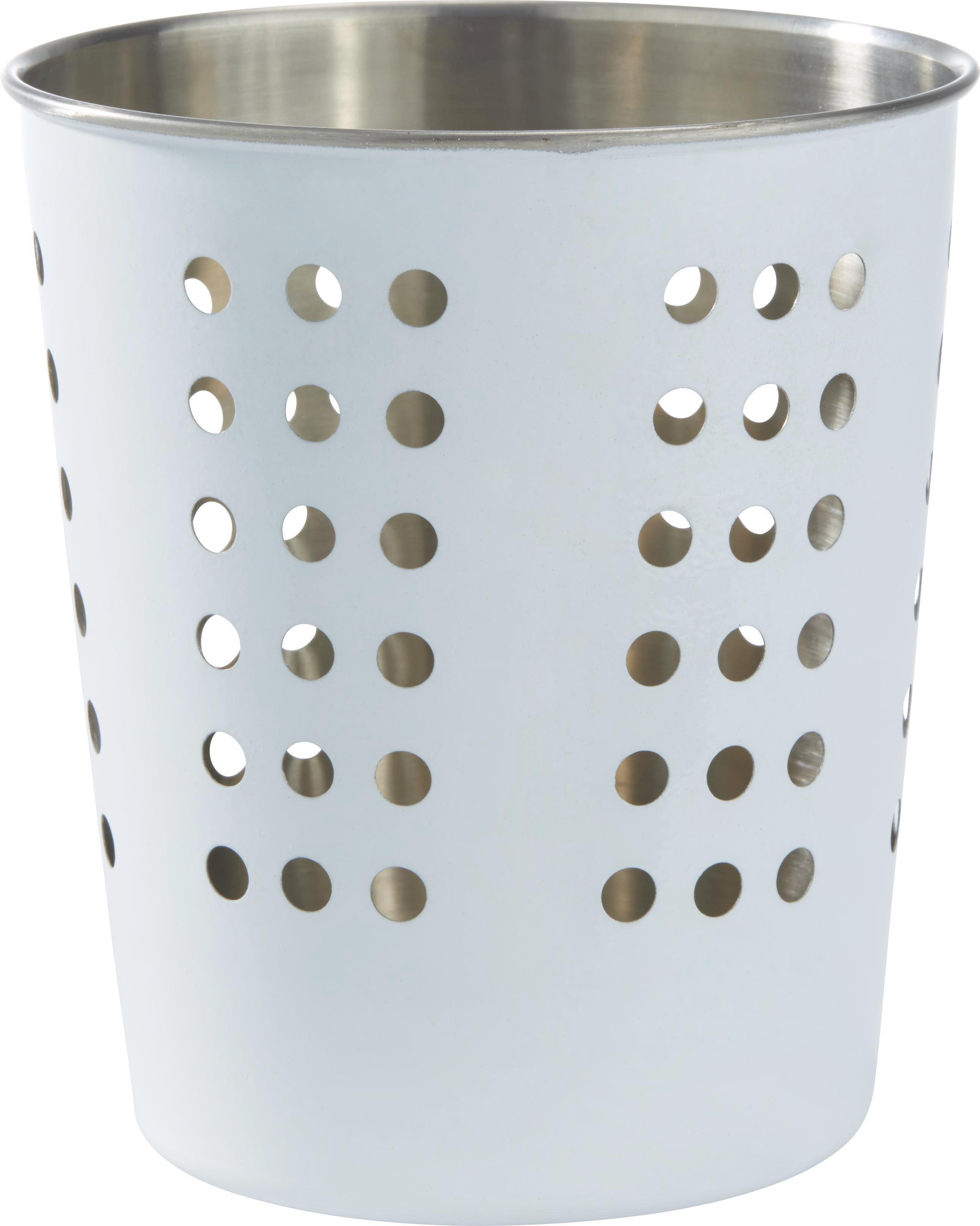 Evőeszköztartó Conny - nemesacél színű, fém (12,5/14,3cm) - MÖMAX modern living