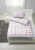 Kinderbettwäsche Versch. Farben 100xx135cm - Rosa/Grün, KONVENTIONELL, Textil (100/135cm) - Mömax modern living