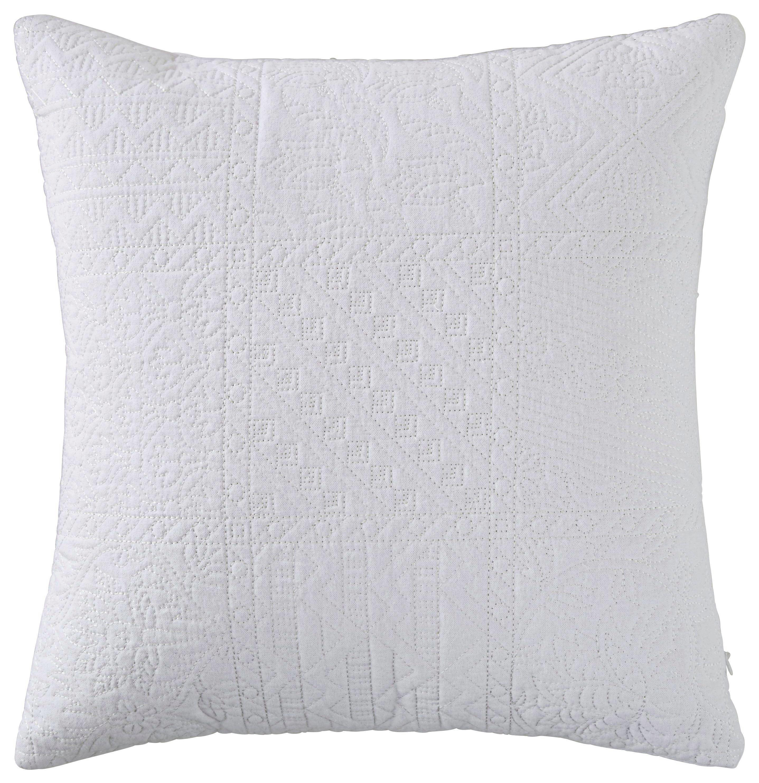 Díszpárna Desiree - fehér, romantikus/Landhaus, textil (43/43cm) - MÖMAX modern living