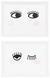 Speiseteller Eyes in verschiedenen Designs - Schwarz/Rosa, Keramik (20,4/15,1/2cm) - Mömax modern living