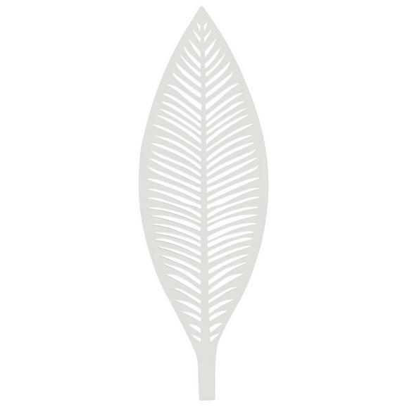 Dísztányér Renate - Fehér, Fém (50/3,5/17cm) - Mömax modern living