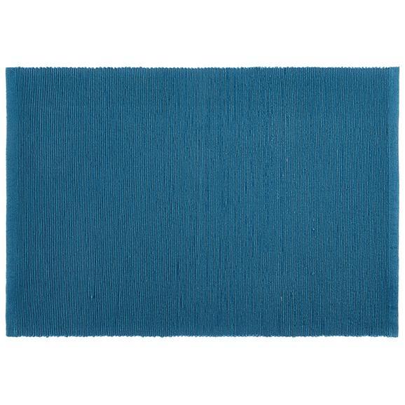 Suport Farfurii Maren - petrol, textil (33/45cm) - Based