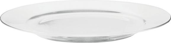 Dessertteller Bonnie in Weiß - Weiß, MODERN, Keramik (20,3cm) - MÖMAX modern living