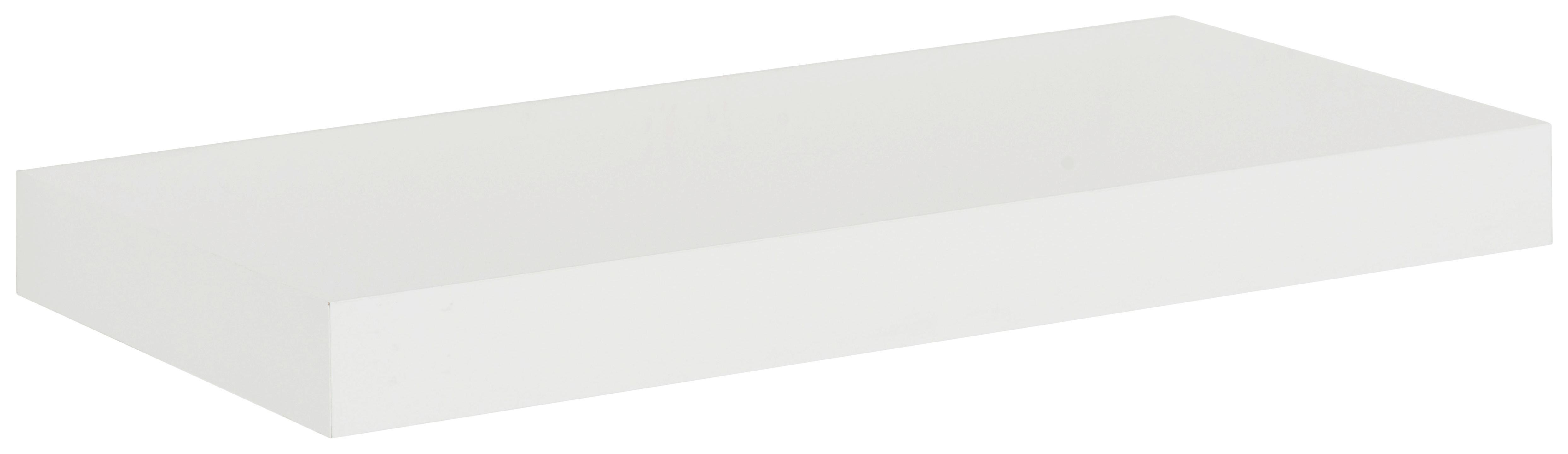 Wandboard in Weiß - Weiß, Basics, Holz (100/4/24cm) - MÖMAX modern living