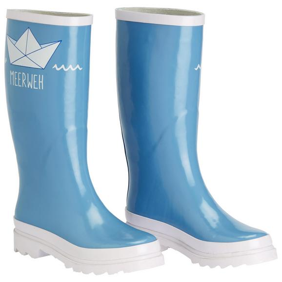 Gummistiefel Rainy in Blau - Blau, Design, Kunststoff (20/40/8cm)