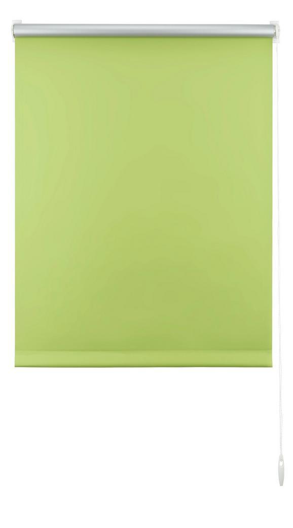 Klemmrollo Thermo in Grün, ca. 45x150cm - Grün, Textil (45/150cm) - Premium Living