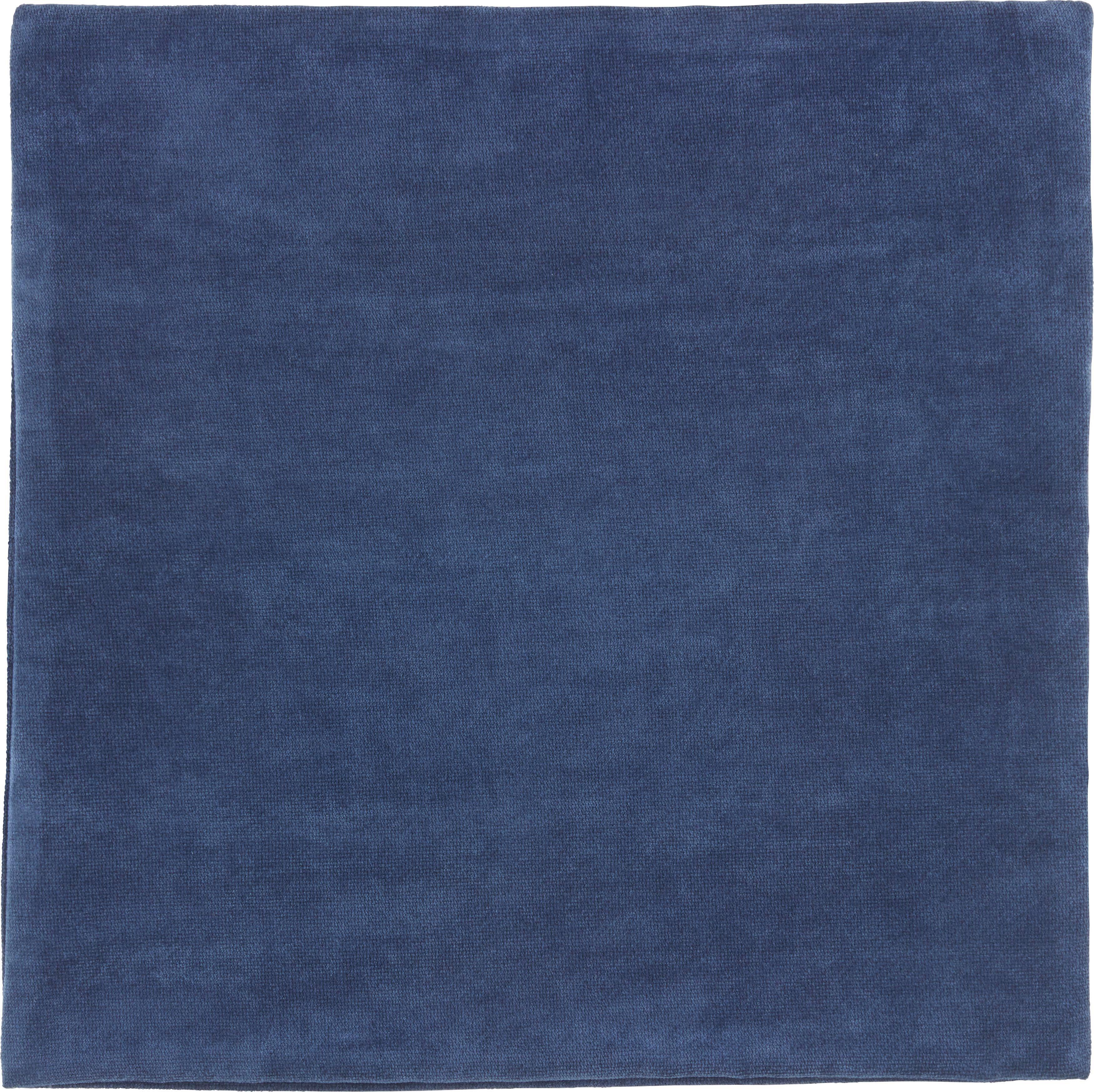 Kissenhülle Marit, ca. 40x40cm - Dunkelblau, Textil (40/40cm) - MÖMAX modern living