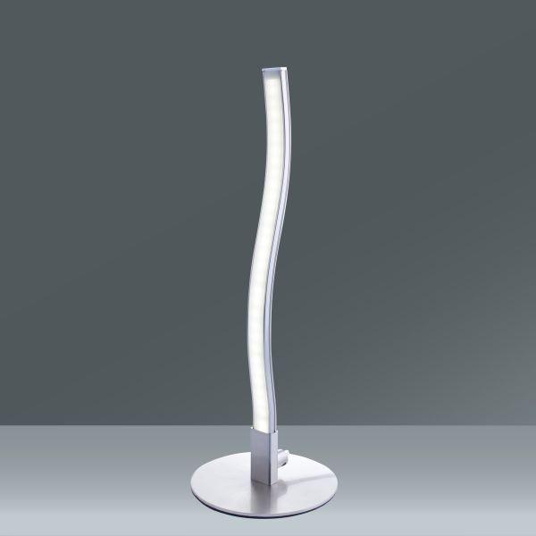 Tischleuchte Ada, max. 3,6 Watt - Chromfarben, KONVENTIONELL, Kunststoff/Metall (10/30cm) - MÖMAX modern living
