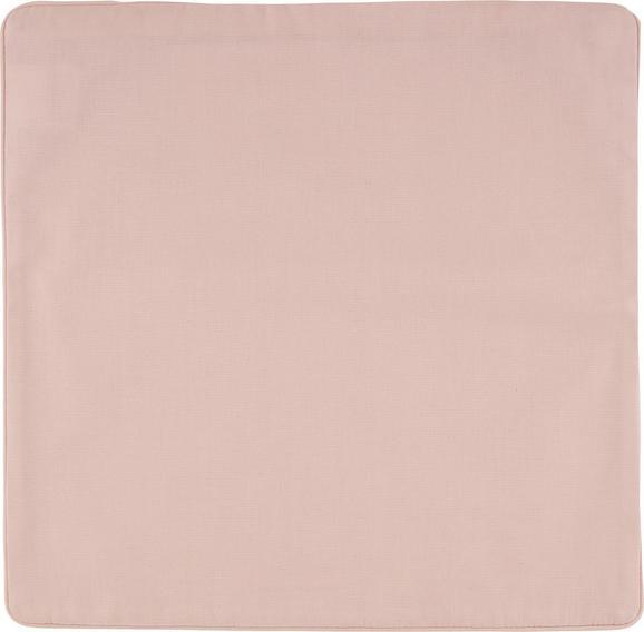 Párnahuzat Steffi - Fáradt rózsaszín, Textil (40/40cm) - Mömax modern living