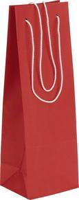 Darilna Vrečka Fiona - rdeča, Moderno, papir (12/36/10cm)