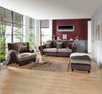 Xxxl Sofa Living - tamno smeđa/svijetlo smeđa, KONVENTIONELL, tekstil/drvo (265/82-102/108cm) - Zandiara