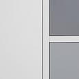 Sideboard Daniela - Weiß/Grau, MODERN, Holz (100/70/38cm) - MODERN LIVING