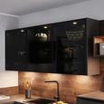 Einbauküche Artstone in Anthrazit! - Anthrazit, MODERN, Holzwerkstoff (270/305cm)