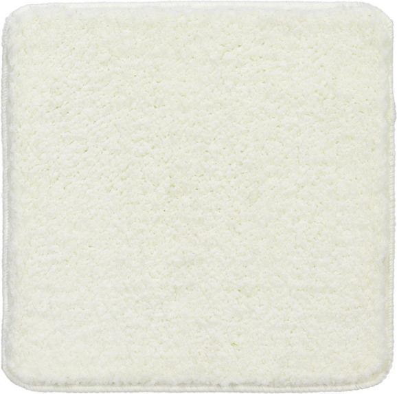 Badematte Christina Weiß 50x50cm - Weiß, Textil (50/50/cm) - Mömax modern living