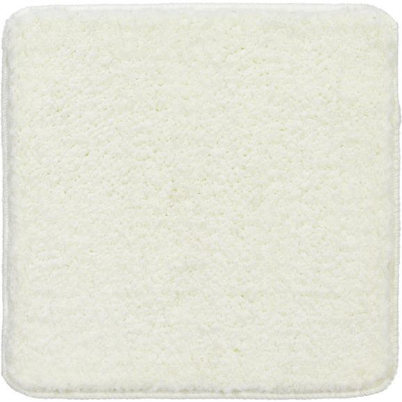 Badematte Christina Weiß 50x50cm - Weiß, Textil (50/50cm) - Mömax modern living
