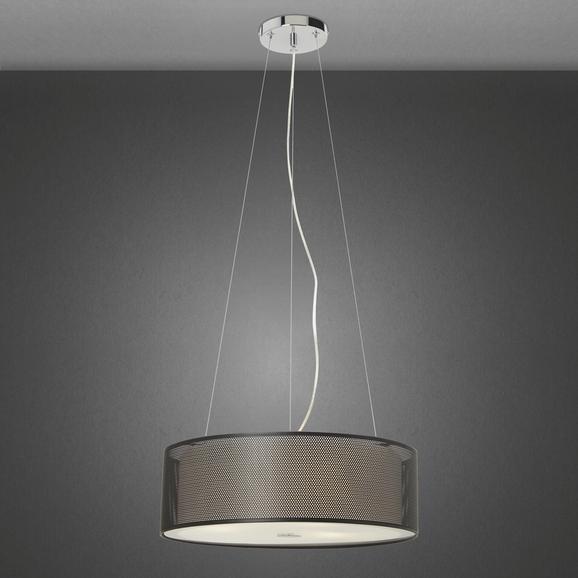 Pendelleuchte Cora 3-flammig - Schwarz, Glas/Metall (40/100cm) - Mömax modern living